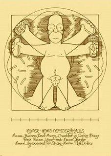 Vitruvian Simpson