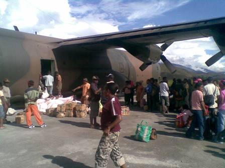 Bongkar Muat di Wamena
