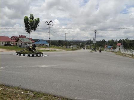 Suasana Kota di Kuala Kurun