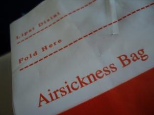 Airsickness Bag Batavia Air