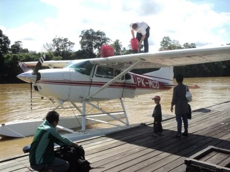 PK-MCD Cessna 185