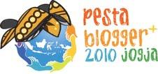 Logo Pesta Blogger 2010 Jogja