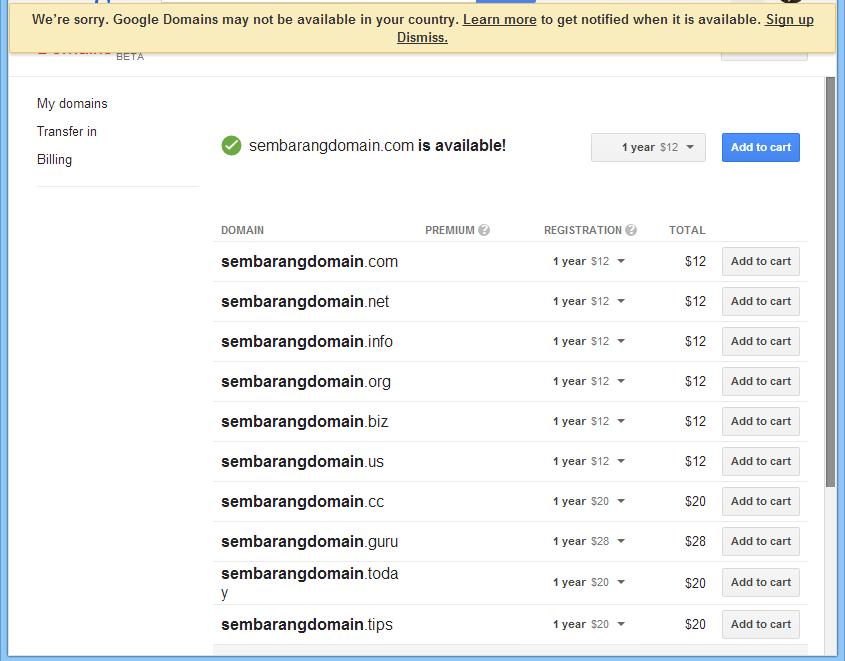 Wahyu Wijanarko EN: Welcome to the Google Domains invite
