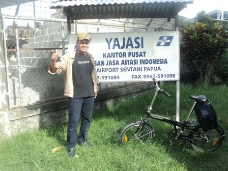 Bersepeda Keliling Papua